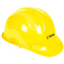 Casco de Seguridad Ajuste con ratchet Amarillo, Resistencia Electrica 2200 V, CAS-A 14294 Truper