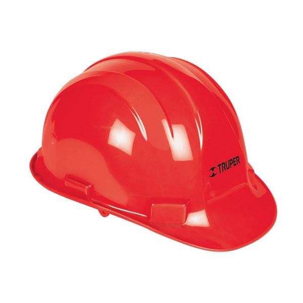 Casco de Seguridad Ajuste con ratchet Rojo, Resistencia Electrica 2200 V, CAS-R 10373 Truper