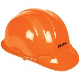 Casco de Seguridad ajuste de intervalos Naranja, Resistencia Electrica 2200 V, CAS-NP 25036 Pretul
