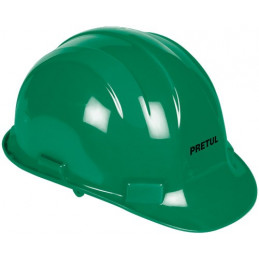 Casco de Seguridad ajuste de intervalos Verde, Resistencia Electrica 2200 V, CAS-VP 25045 Pretul