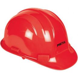 Casco de Seguridad ajuste de intervalos Rojo, Resistencia Electrica 2200 V, CAS-RP 25044 Pretul