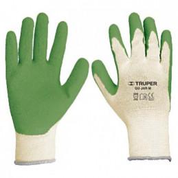 Guantes para Jardinero cubierto de latex puño tejido Talla G, GU-JAR-G 15267 Truper