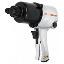 "Llave Neumatica Pistola de Impacto 1/2"" Industrial, Carcasa de Aluminio Pulido, TPN-734H-2 11187 Truper"
