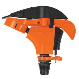 """Aspersor Plastico Solo cabeza Entrada 1/2"""", Estaca 21cm, Alcance 8.5m, Area 360, 50 PSI, ASP-P 10333 Truper"""