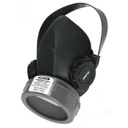 Respirador 1 Filtro Sin Cartuchos incluye Valvula de Exhalacion, Bandas Elasticas Ajustable, RES-1-P 23390 Pretul