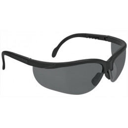 Lentes de Seguridad Vision Gris, 100% Policarbonato con UV Antirayadura, LEDE-SN 14302 Truper