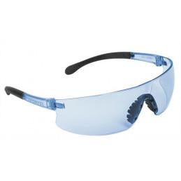 Lentes de Seguridad Ultraligero Azul, 100% Policarbonato con UV Antirayadura, LEN-LZ 10819 Truper