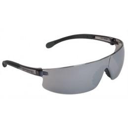 Lentes de Seguridad Ultraligero Espejo Plata, 100% Policarbonato con UV Antirayadura, LEN-LEP 10822 Truper