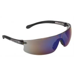 Lentes de Seguridad Ultraligero Espejo Azul, 100% Policarbonato con UV Antirayadura, LEN-LEZ 10823 Truper