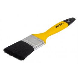 """Brochas Profesionales mango de Plastico 1 1/2"""" Long Cerdas 40mm Espesor 10mm, Resistente a Solvente, BRP-1-1/2 21525 Pretul"""