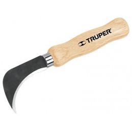 "Cuchillo para Linoleo 7 1/2"", Acero inoxidable, Para Vinil Alfombra Etc, NL-8 14462 Truper"