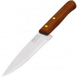 """Cuchillo de Chef 8"""" mango de Madera, acero inoxidable, CUCH-M81 23082 Pretul"""