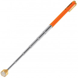 Iman Extensible, Levanta 1.5kg, Estension Min. 128mm Max. 630mm, Recupera Objetos, Clip Tipo Boligrafo, PICK-UP 14140 Truper
