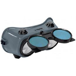 Gafas para Soldar, Para uso de Oxicorte, 4 Valvulas de ventilacion, GASO 14282 Truper