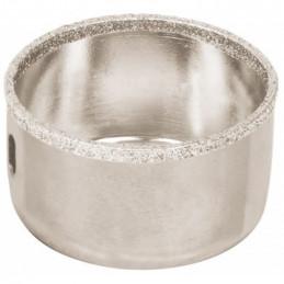 """Sierra de copa 2 1/8"""" o 53.9mm, con borde de diamante, alto rendimiento, cortes finos y rapidos, COAZ-2-1/8 17133 Truper"""
