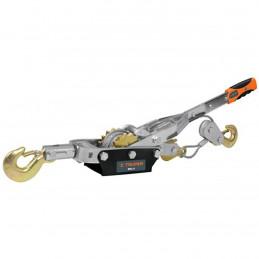Templadoras con Ratchet 4 Toneladas, doble cremallera, en acero, ideal para tensado y remolque, MAL-4 14727 Truper