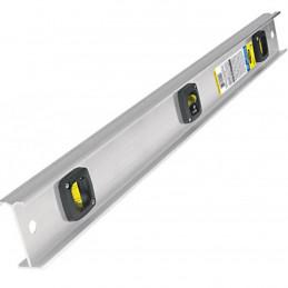 """Nivel 18"""", Cuerpo de Aluminio, Gotas resistente a la abrasion y al impacto, NP-18P 22458 Pretul"""