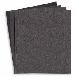 "Lija de Esmeril Negra 9"" x 11"", GRANO 36 , 25Pzas, Respaldo de Tela, Oxido de Aluminio, para metal y otros, LIME-36 11600 Truper"
