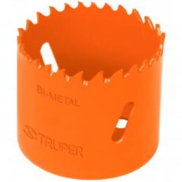 """Sierra de copa Bimetalicas 1 3/4"""" o 44.4mm, dientes de acero alta velocidad, Para metal y Madera, COBI-1-3/4 18096 Truper"""