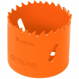"""Sierra de copa Bimetalicas 1 1/8"""" o 28.5mm, dientes de acero alta velocidad, Para metal y Madera, COBI-1-1/8 18090 Truper"""