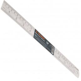 Regla de Acero Inoxidable 30cm, Con tabla de conversion al reverso, RGL-30 14387 Truper