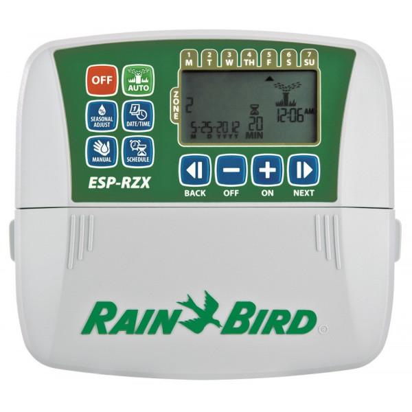 Programador de Riego Automatico Profesional Temporizador ESP-RZX 8 Zonas o Estaciones, RZX8I-230V Rain Bird