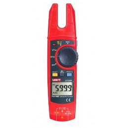 Pinza Amperimetrica Digital UNI-T UT-256B True RMS, AC/DC 750V 200A Voltaje Corriente Resistencia Capacitancia continuidad