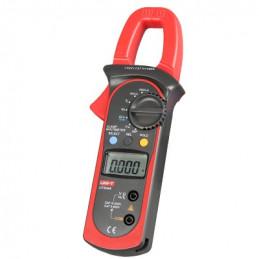 Pinza Amperimetrica Digital UNI-T UT-204A, para medir Corriente AC/DC 600A Voltaje Resistencia Capacitancia y continuidad