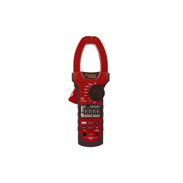 Pinza Amperimetrica Digital Prasek Premium PR-209A, ACDC1000A Voltaje Corriente Frec Temp