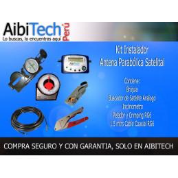 Kit Instalador para Antena Parabólica Satelital