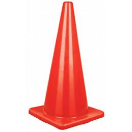Conos de Precaucion 70 cm, Resistente a Impactos, Peso 2.50 kg, CONO-70 13122 Truper