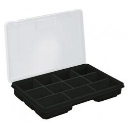 "Organizador reforzado de Plastico 9"", 11 Compartimientos, Largo 9"", Ancho 5 3/4"", Alto 1 1/2"", ORG-11 10035 Truper"