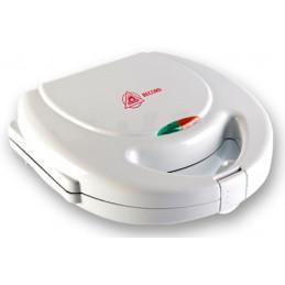 Sandwichera Electrica, planchas con doble revestimiento antiadherente con termostato automatico, Blanco, REC-CLSNE100 RECORD