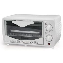 Horno Electrico Capacidad 9 Litros, con Funciones múltiples, temperatura hasta 240°C, color Blanco, REC-CLHEBL100 RECORD