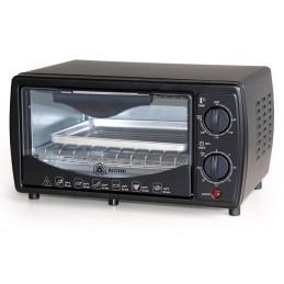 Horno Electrico Capacidad 9 Litros, con Funciones múltiples, temperatura hasta 240°C, color Negro, REC-CLHENE100 RECORD