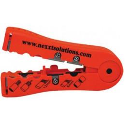 Nexxt - Pelador de Cable con Cuchillas