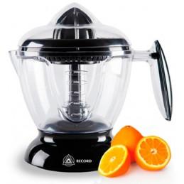 Exprimidor de Naranja, sistema automatico por accionamiento con dos tamaños de cono, jarra de Plastico, REC-CLENNE100 RECORD