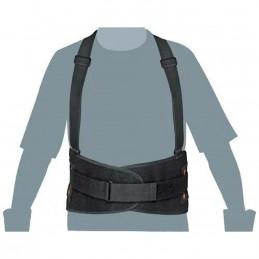 Faja con Tirantes y Cinturon ajustable Talla M 32-38, cierre con velcro, FAJA-MX 14216 Truper