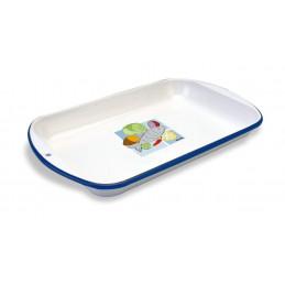 Fuente Esmaltado N15 32 x 18.5 cm, Acero Vitrificado Evita la propagacion de bacterias, 655150000 RECORD