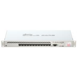 Router Routerboard Cloud Core Mikrotik CCR1016-12G, doce puertos Gigabit Ethernet, 2 GB de RAM