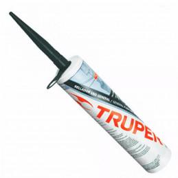 Silicona al 100%, 280ml Traslucido, Interior y exterior, para vidrios aluminio ceramica etc, SIL-100T 17559 Truper