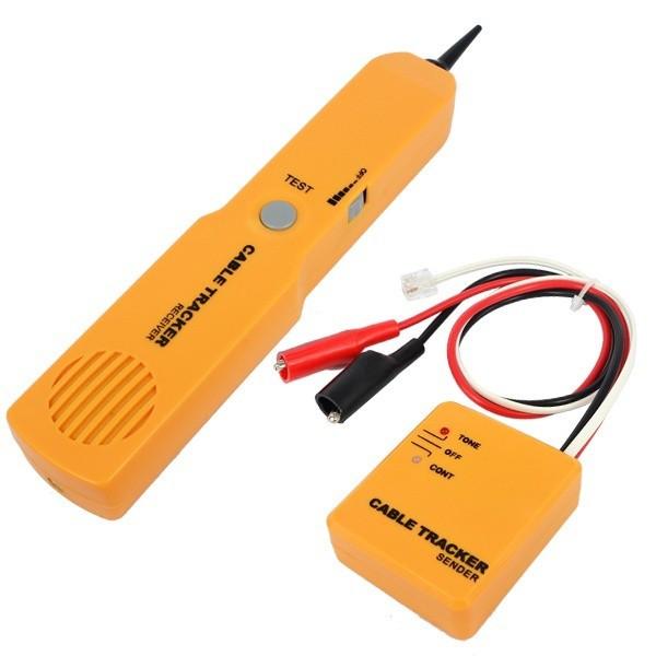 Buscador de Cable Wire Tracker ST201 Detector Line Finder, RJ11 Generador y detector de Tono cable scan & finding AibiTech
