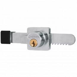 Cerradura para Vitrina tipo serrucho, incluye 2 llaves, CV-10 43535 Hermex