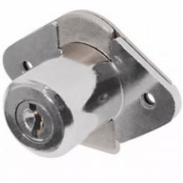 Cerradura para mueble Cromo modelo 21, accion vertical, CM-21C-P 23506 Hermex