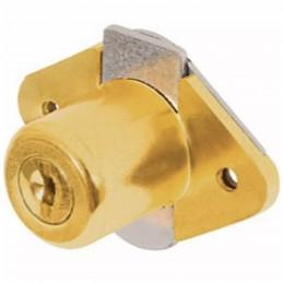 Cerradura para mueble dorado modelo 21, accion vertical, CM-21L-P 23505 Hermex