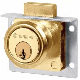 Cerradura para mueble dorado modelo 24, accion vertical, CM-24L 43565 Hermex