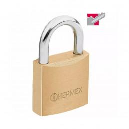 Candado Pulido de Alta seguridad 20mm Seguridad 2, 2 unidades Incluyen 4 llaves Tradicional, CL-20 43425 Hermex