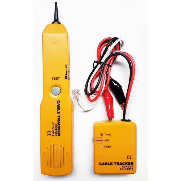 Buscador de Cable Wire Tracker Line Finder continuidad, RJ11 identificador de tono Telefonico clear busy ring, CT019 OEM