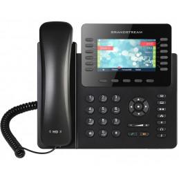 """Telefono IP Grandstream GXP2170, LCD 4.3"""" color, 6 cuentas SIP 11 teclas de función RJ-45 Gigabit PoE, Bluetooth"""