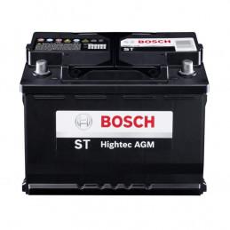 Bateria AGM Bosch 580035 LN4 17Placas 80AH - + RC140m CCA800 31.4x17.4x18.9cm